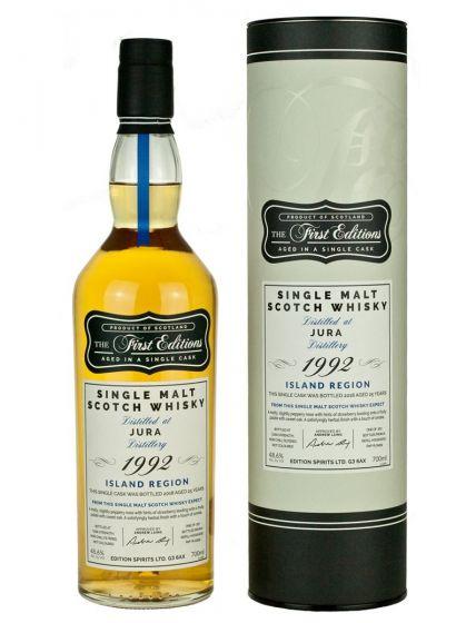 Isle of Jura 2000 - 2016 Single Malt Scotch Whisky 16Y 50.0
